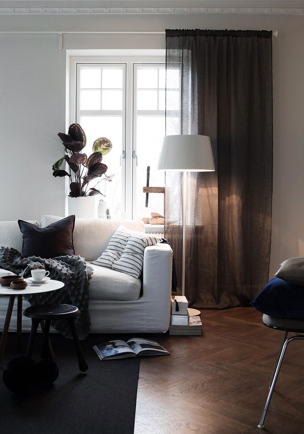 Vardagsrum - vit soffa - Daniella Witte